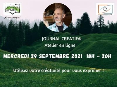 Atelier Journal Créatif du 29 septembre 2021
