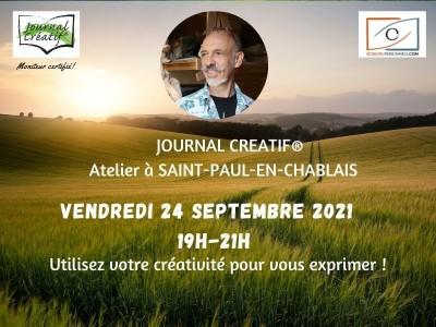 Ateleir Journal Créatif du 24 septembre 2021